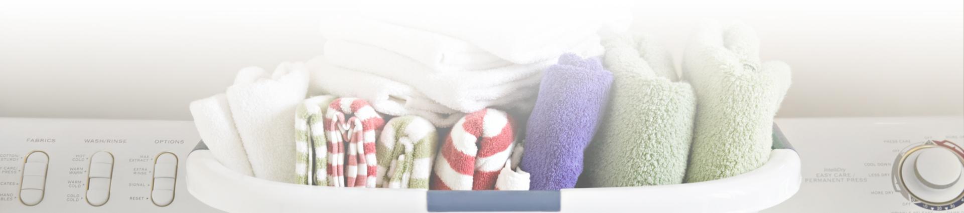 Uprane ręczniki